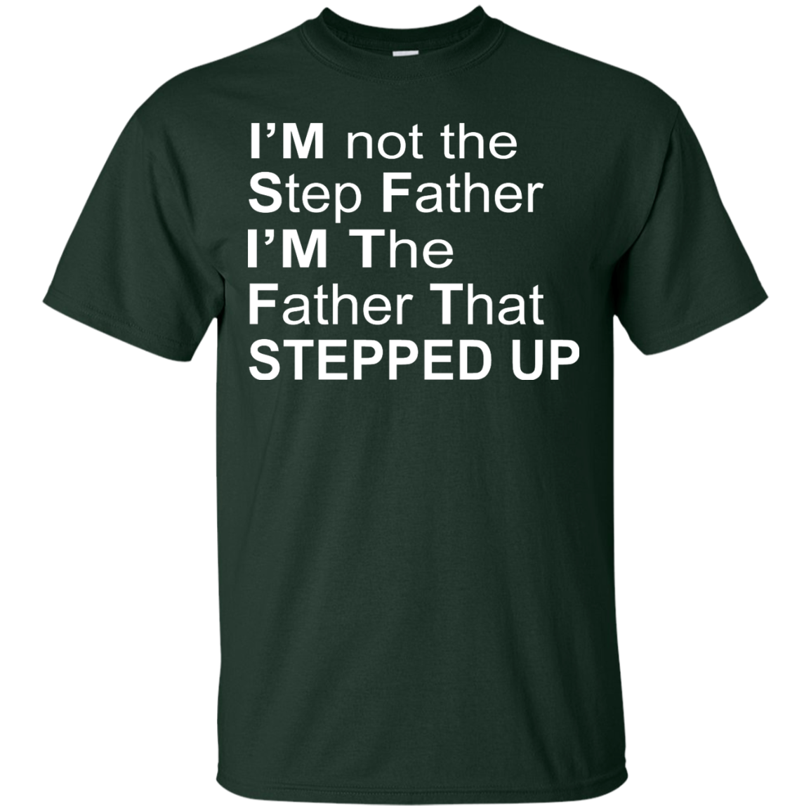 image 1069px I'm Not The Step Father I'm The Father That Stepped Up T Shirts, Hoodies, Sweater