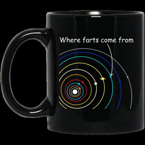 image 1115 490x490px Where Farts Came From Coffee Mug Tea