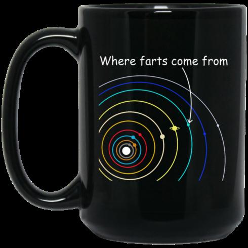 image 1116 490x490px Where Farts Came From Coffee Mug Tea