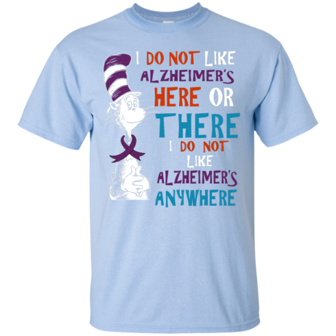 image 1118 490x490px I Do Not Like Alzheimer's Here Or There Or Anywhere T Shirts, Hoodies, Tank