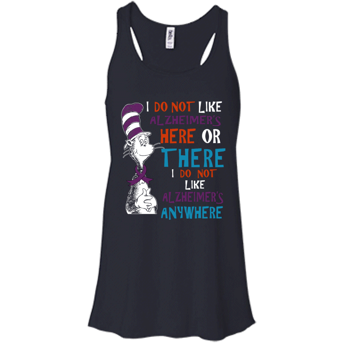 image 1120px I Do Not Like Alzheimer's Here Or There Or Anywhere T Shirts, Hoodies, Tank