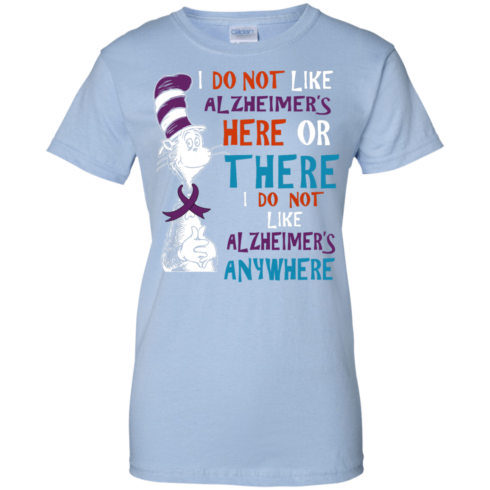 image 1124 490x490px I Do Not Like Alzheimer's Here Or There Or Anywhere T Shirts, Hoodies, Tank