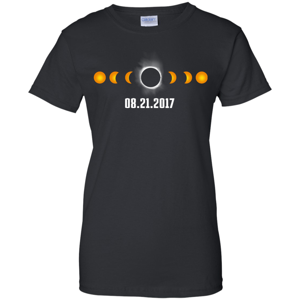 image 1174px Total Solar Eclipse August 21 2017 T Shirts, Hoodies, Tank