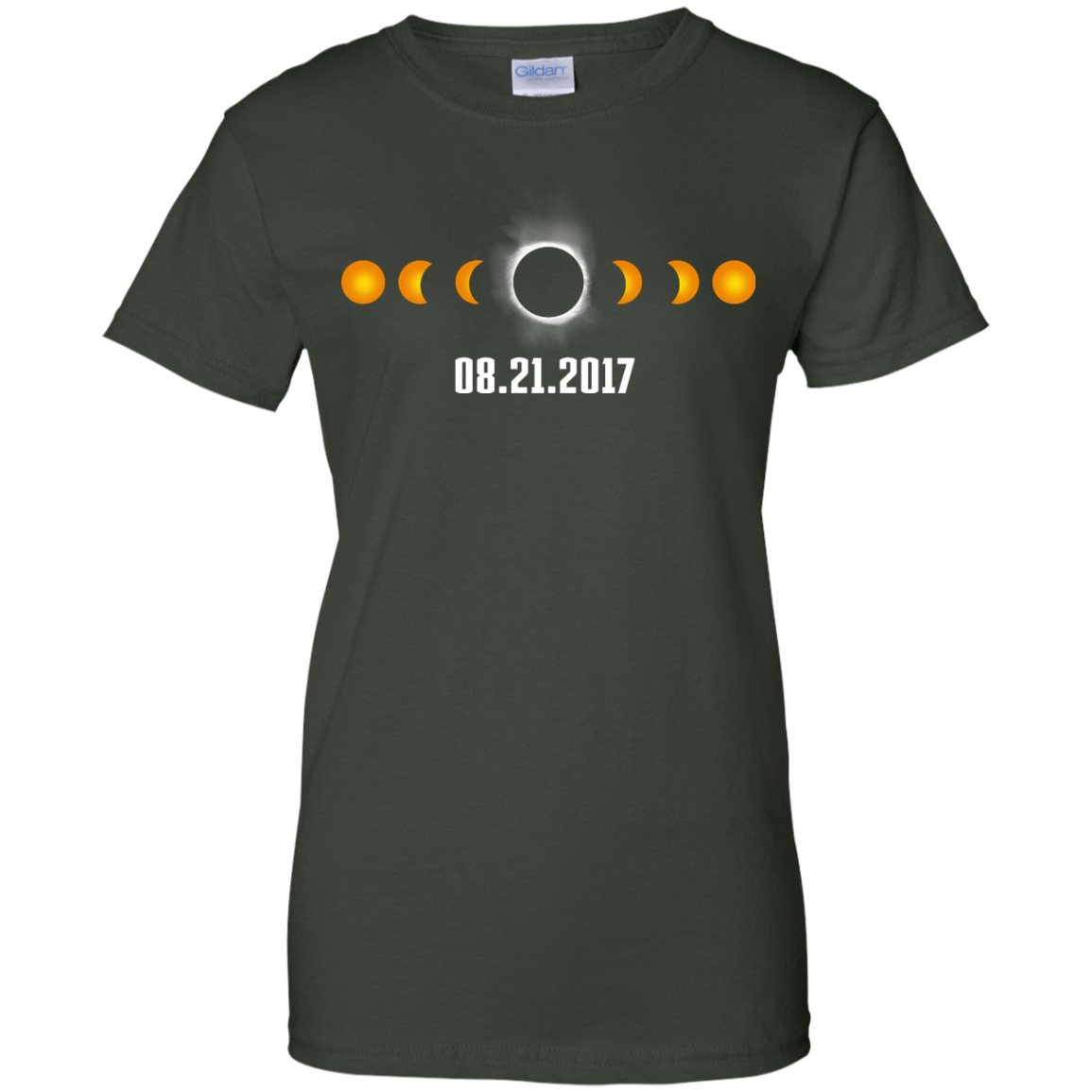 image 1175px Total Solar Eclipse August 21 2017 T Shirts, Hoodies, Tank