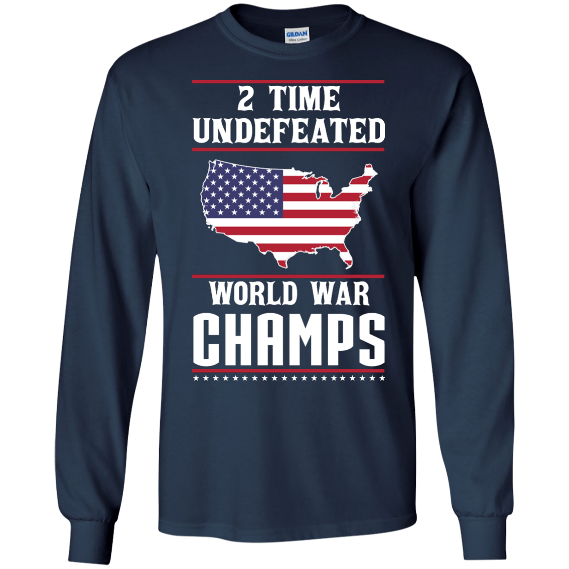 image 1179px Two time undefeated world war champs t shirt, hoodies, long sleeves
