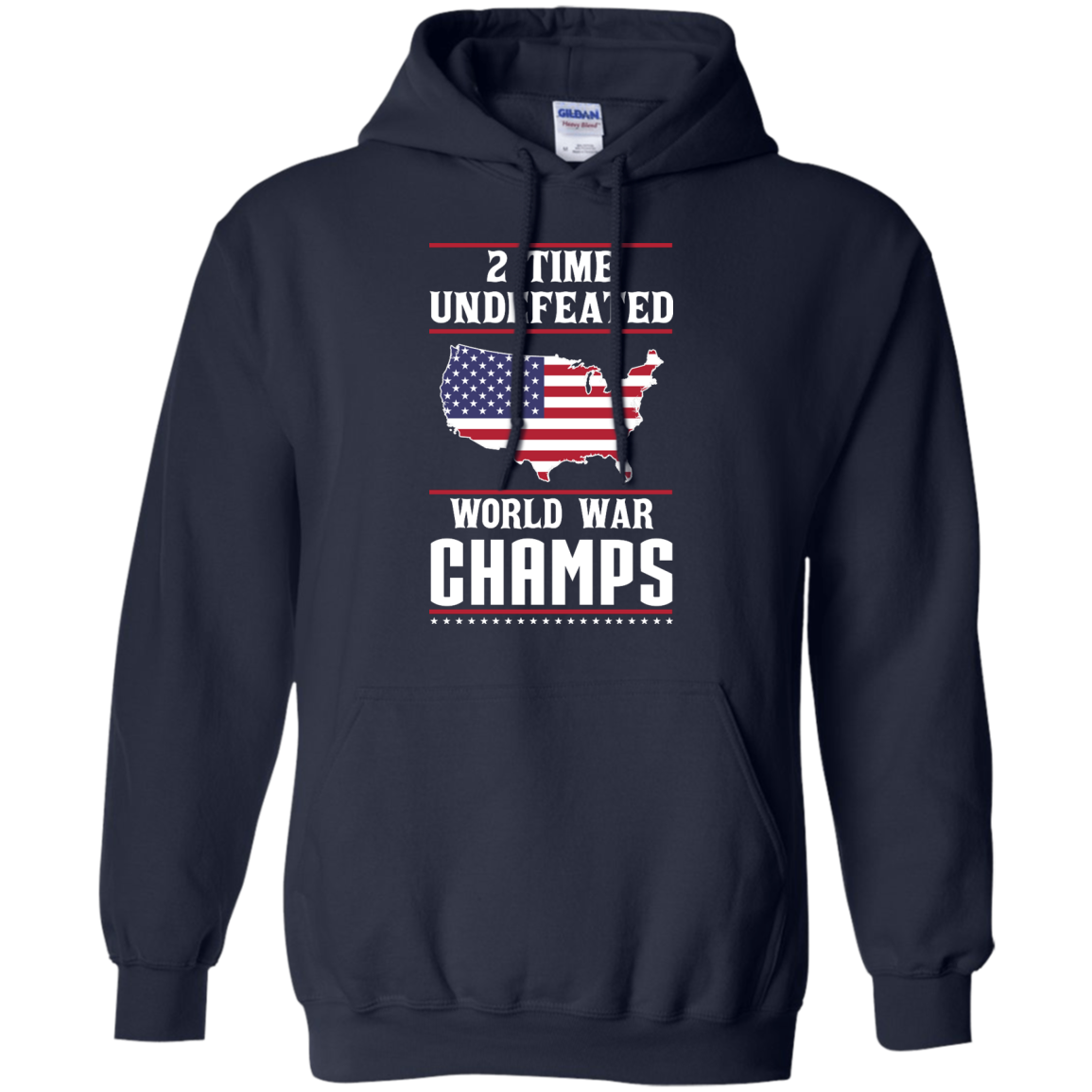 image 1181px Two time undefeated world war champs t shirt, hoodies, long sleeves
