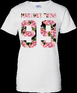 image 1191 247x296px Martinez Twins 99 Roses T Shirts, Hoodies, Tank Top