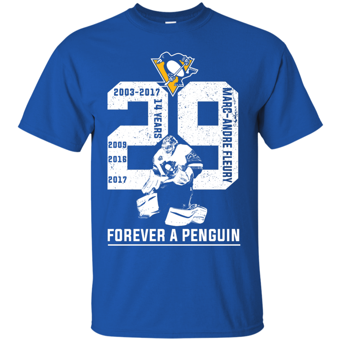 image 1201px Marc Andre Fleury Forever A Penguin T Shirts, Hoodies, Long Sleeves