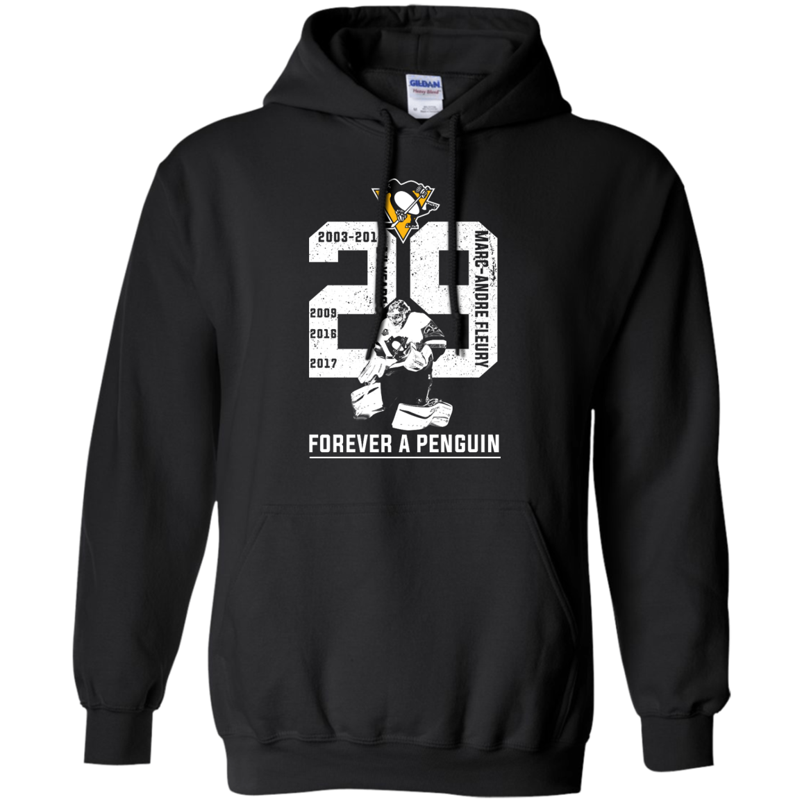 image 1204px Marc Andre Fleury Forever A Penguin T Shirts, Hoodies, Long Sleeves