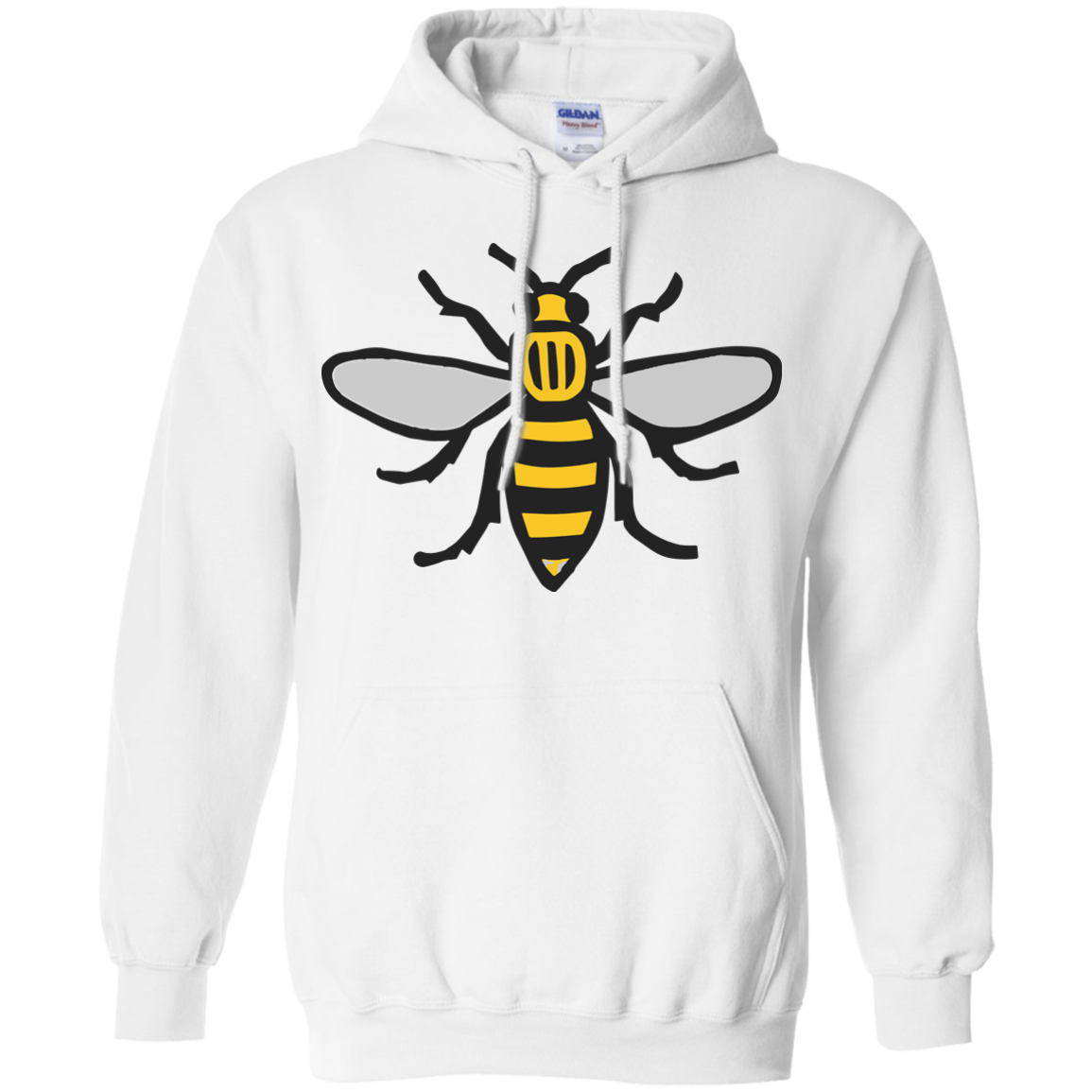 image 13px Manchester Bee, Symbol of Manchester T Shirts