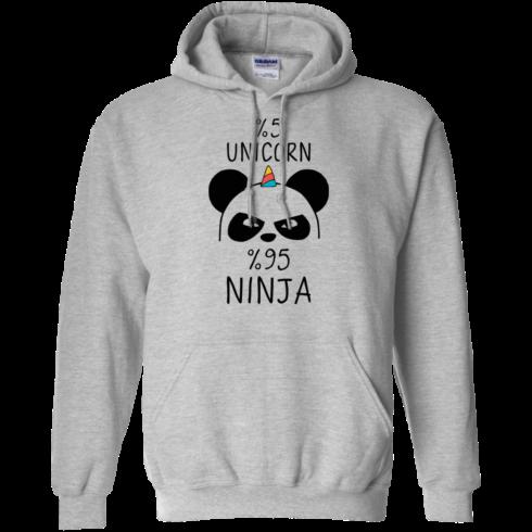 image 157 490x490px 5% Unicorn and 95% Ninja Beer T Shirts, Hoodies, Tank