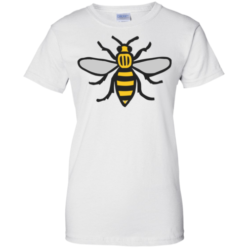 image 16 490x490px Manchester Bee, Symbol of Manchester T Shirts