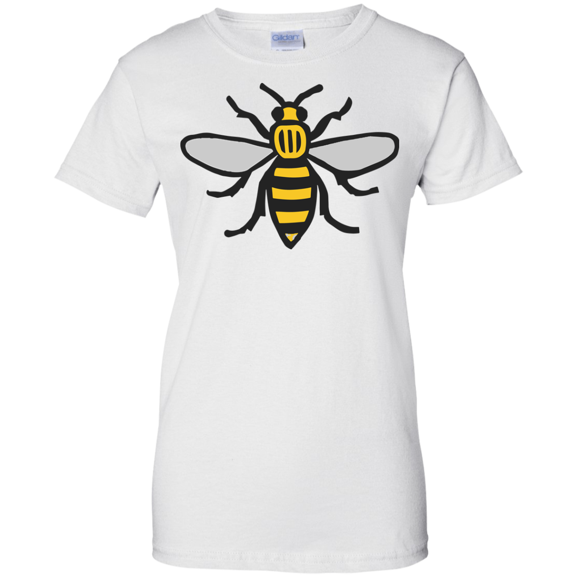 image 16px Manchester Bee, Symbol of Manchester T Shirts