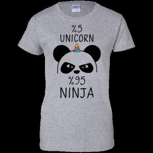 image 160 490x490px 5% Unicorn and 95% Ninja Beer T Shirts, Hoodies, Tank