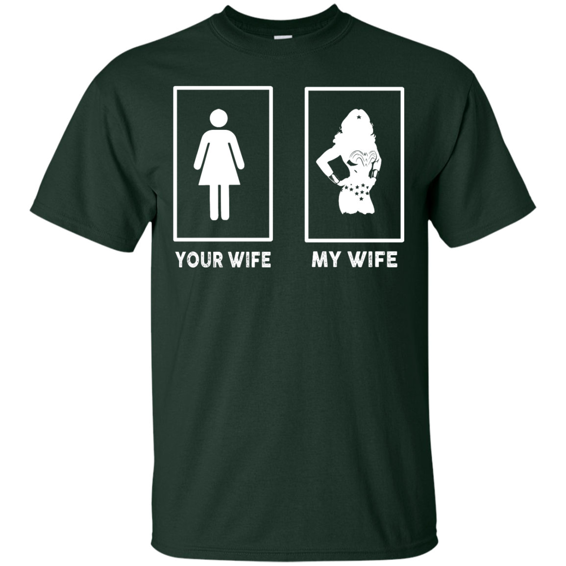 image 164px My Wife Your Wife Wonder Woman T Shirts, Hoodies