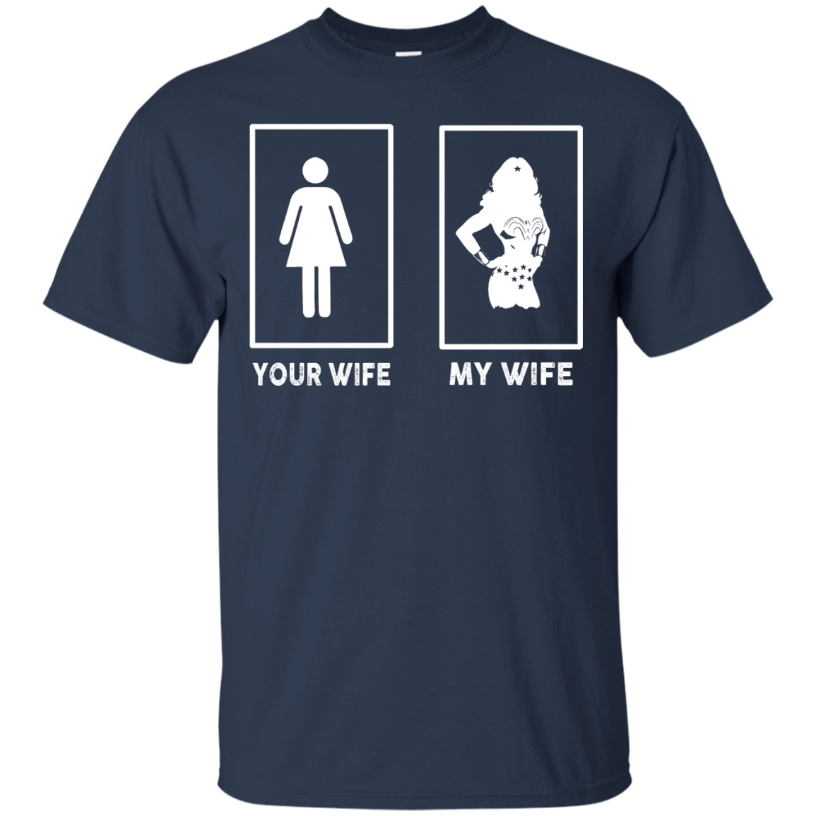 image 165px My Wife Your Wife Wonder Woman T Shirts, Hoodies