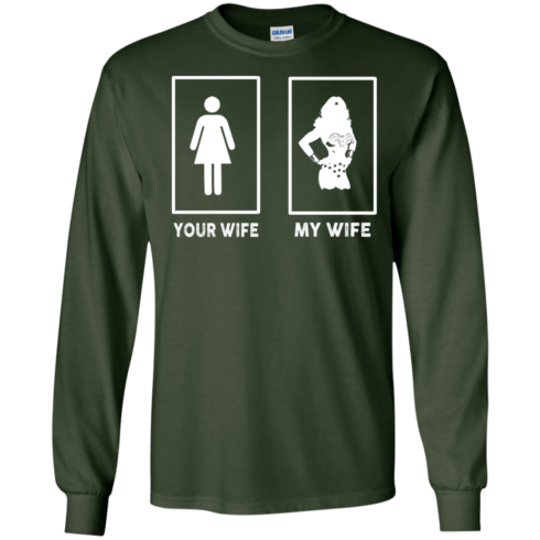 image 167 490x490px My Wife Your Wife Wonder Woman T Shirts, Hoodies