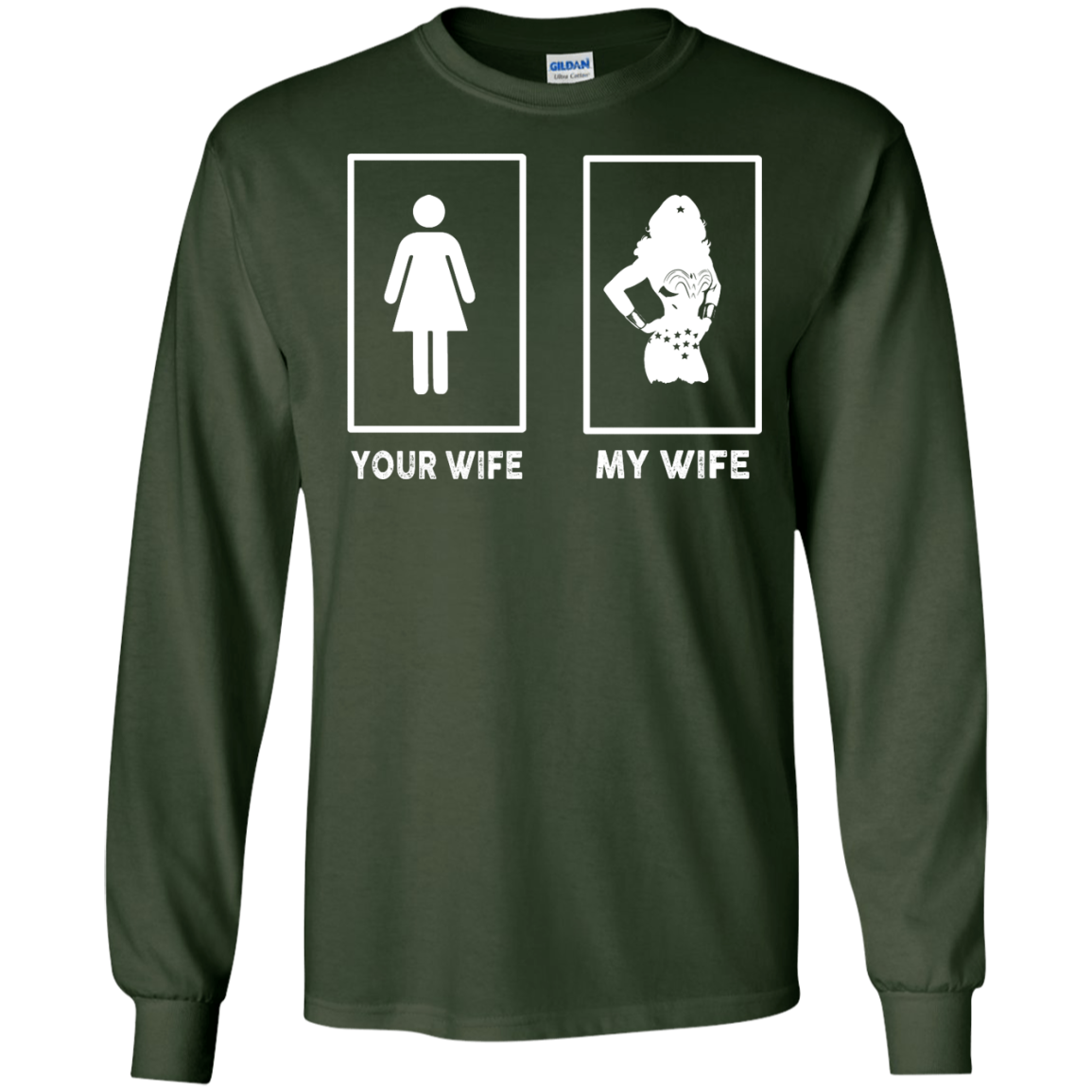 image 167px My Wife Your Wife Wonder Woman T Shirts, Hoodies