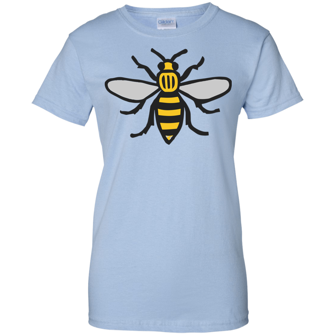 image 17px Manchester Bee, Symbol of Manchester T Shirts