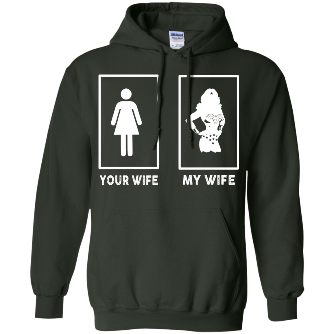 image 171px My Wife Your Wife Wonder Woman T Shirts, Hoodies