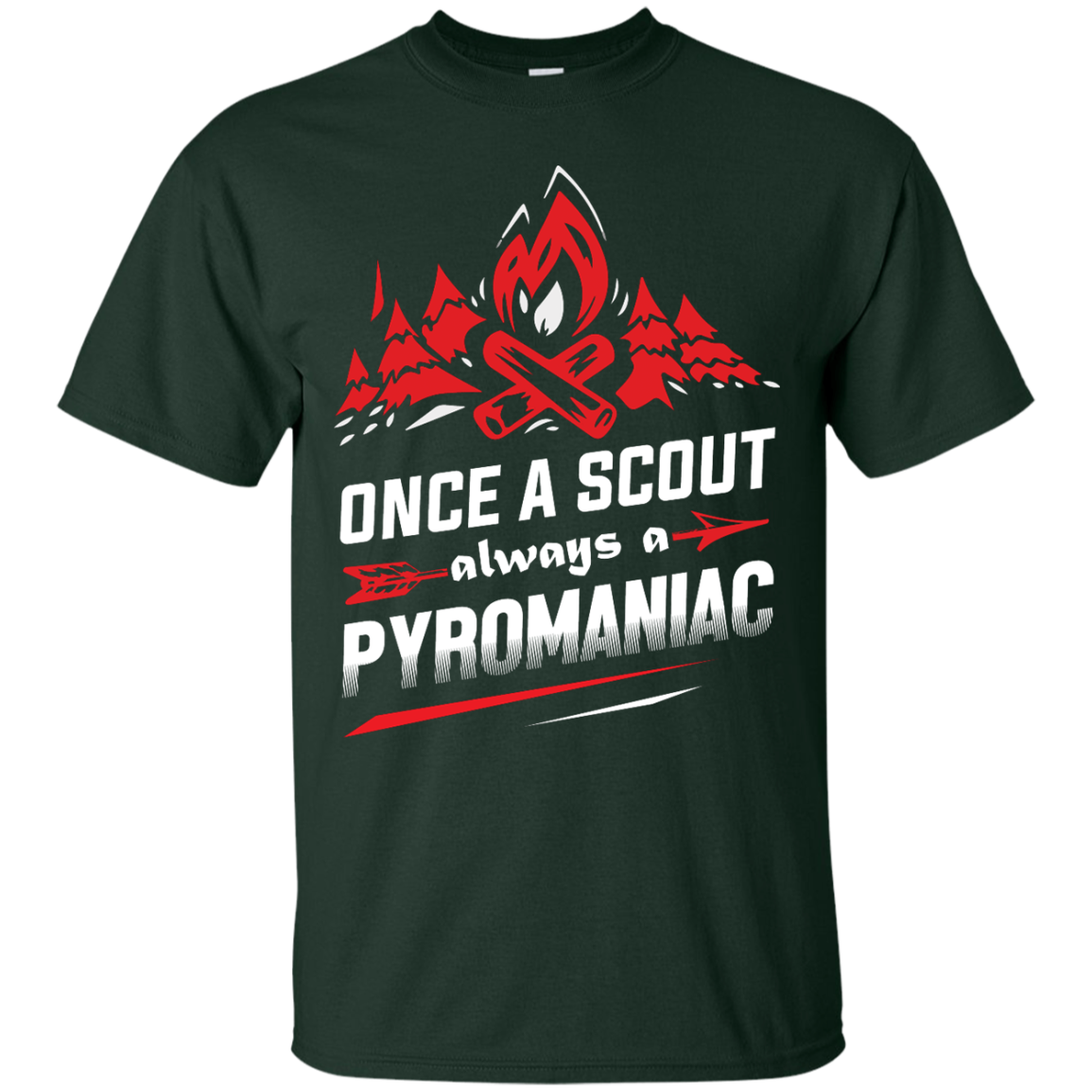 image 216px Once A Scout Always A Pyromaniac T Shirts, Hoodies, Tank Top