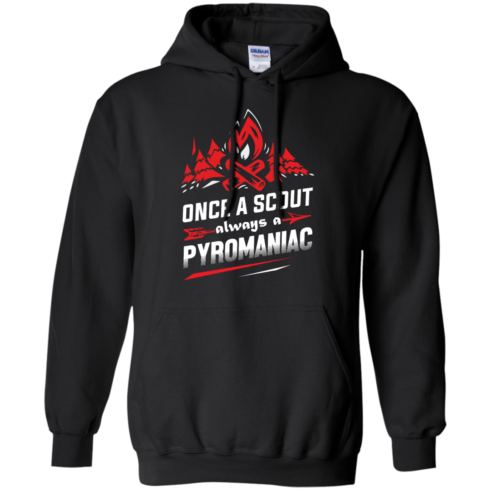 image 219 490x490px Once A Scout Always A Pyromaniac T Shirts, Hoodies, Tank Top