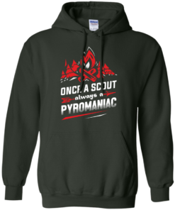 image 220 247x296px Once A Scout Always A Pyromaniac T Shirts, Hoodies, Tank Top