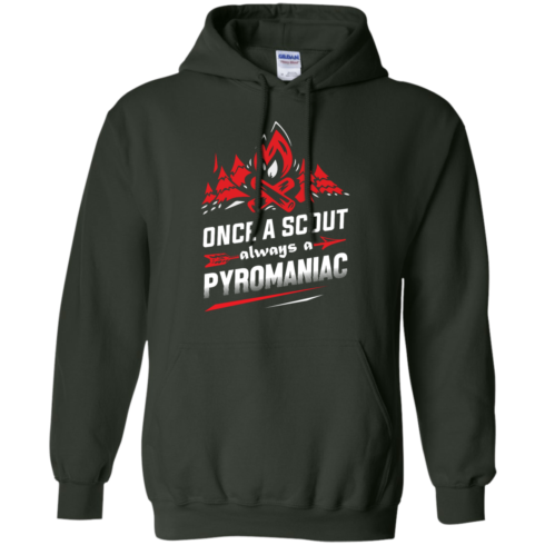 image 220 490x490px Once A Scout Always A Pyromaniac T Shirts, Hoodies, Tank Top