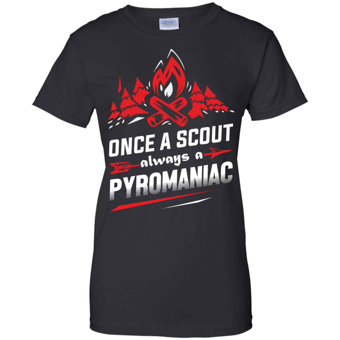 image 221px Once A Scout Always A Pyromaniac T Shirts, Hoodies, Tank Top