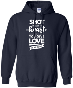 image 384 247x296px Shot Through The Heart And Youe'r To Blame You Give Love A Bad Name T Shirts