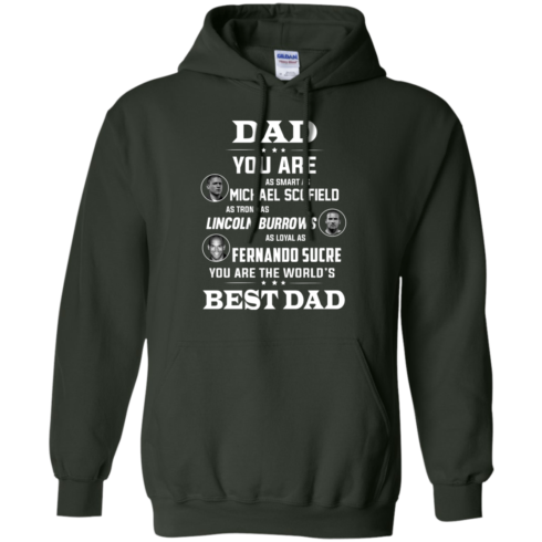 image 404 490x490px Dad you are smart as Michael strong as Lincoln loyal as Fernando t shirts, hoodies