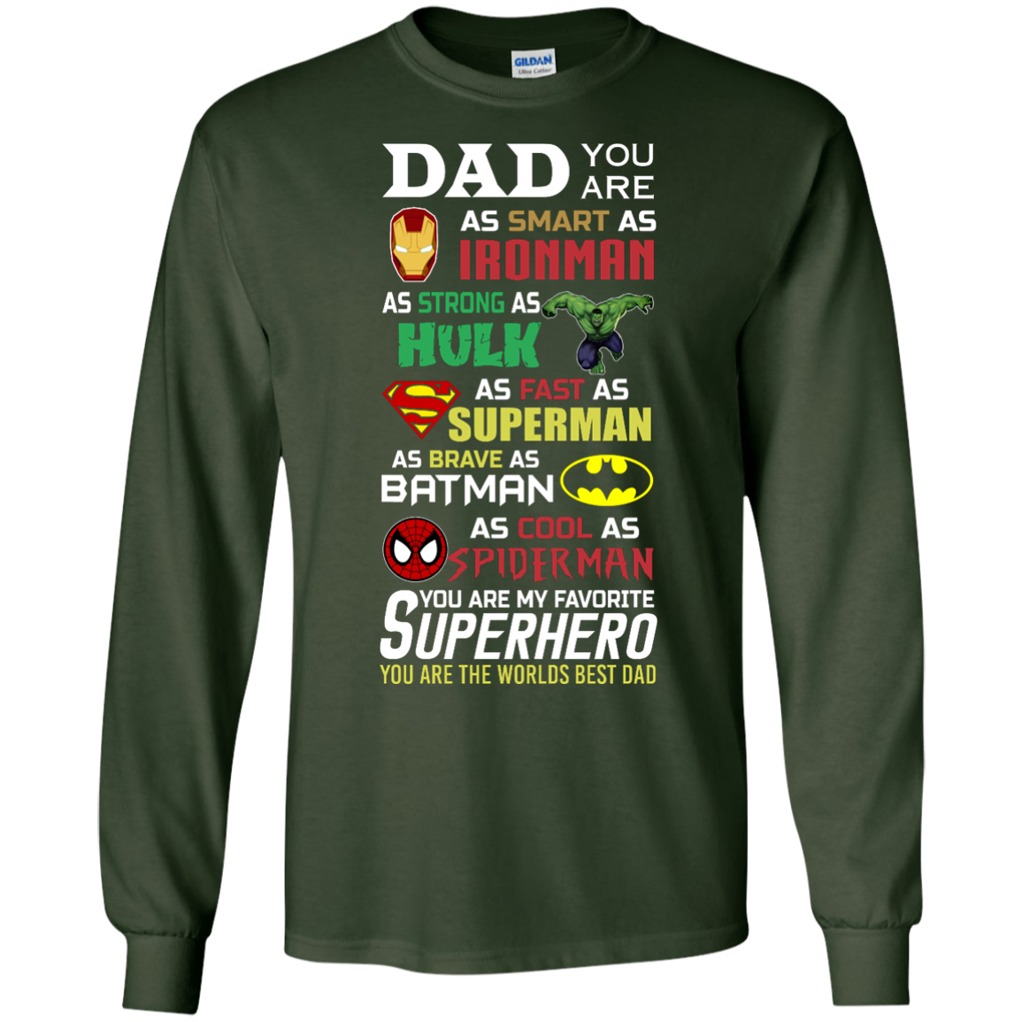 image 449px Dad You Are Smart As Ironman Strong As Hulk Fast As Superman T Shirts, Hoodies