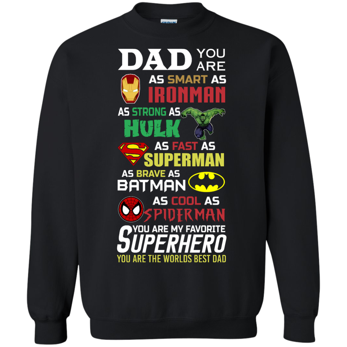 image 452px Dad You Are Smart As Ironman Strong As Hulk Fast As Superman T Shirts, Hoodies