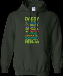 image 459 247x296px Ninja Turtles: Daddy You Are As Brave As Leonardo Smart As Donatello T Shirts, Hoodies