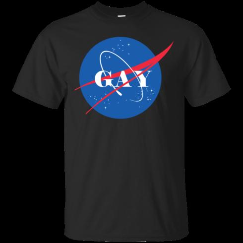 image 491 490x490px Nasa Gay Pride Logo T Shirts, Hoodies, Tank
