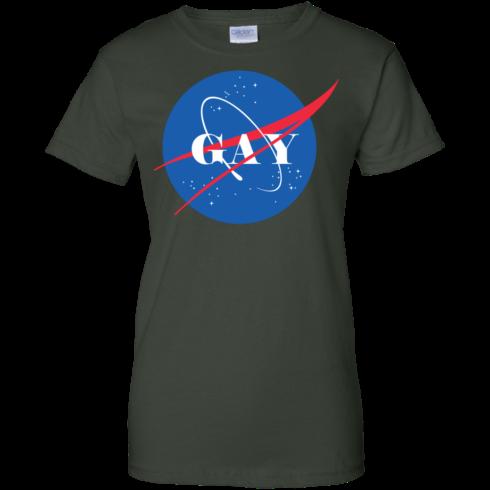 image 498 490x490px Nasa Gay Pride Logo T Shirts, Hoodies, Tank