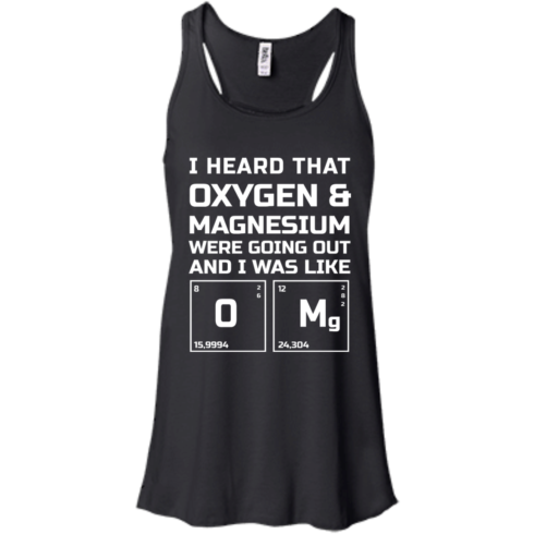 image 539 490x490px I Heard That Oxygen & Magnesium Were Going Out And I Was Like O Mg T Shirts
