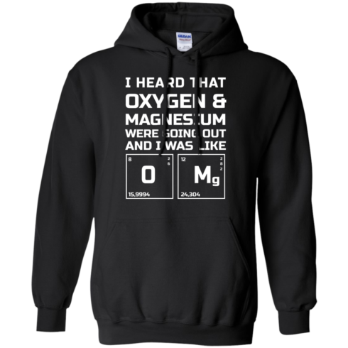 image 541 490x490px I Heard That Oxygen & Magnesium Were Going Out And I Was Like O Mg T Shirts