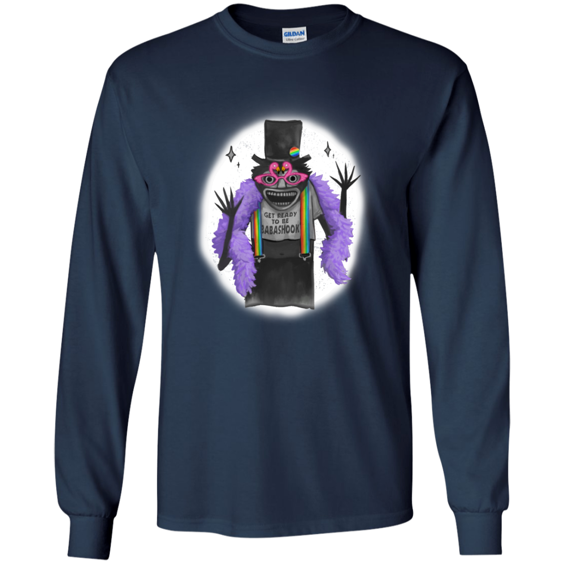 image 564px Get Ready To Be Babashook, The Gay Babadook LGBT T Shirts, Hoodies