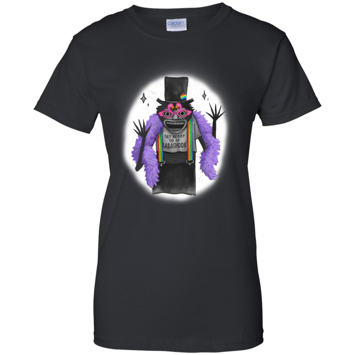 image 567px Get Ready To Be Babashook, The Gay Babadook LGBT T Shirts, Hoodies