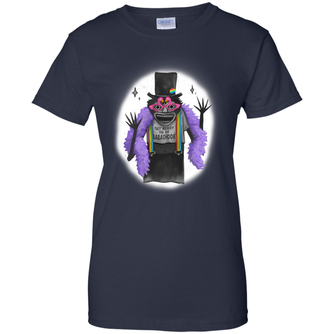 image 568px Get Ready To Be Babashook, The Gay Babadook LGBT T Shirts, Hoodies