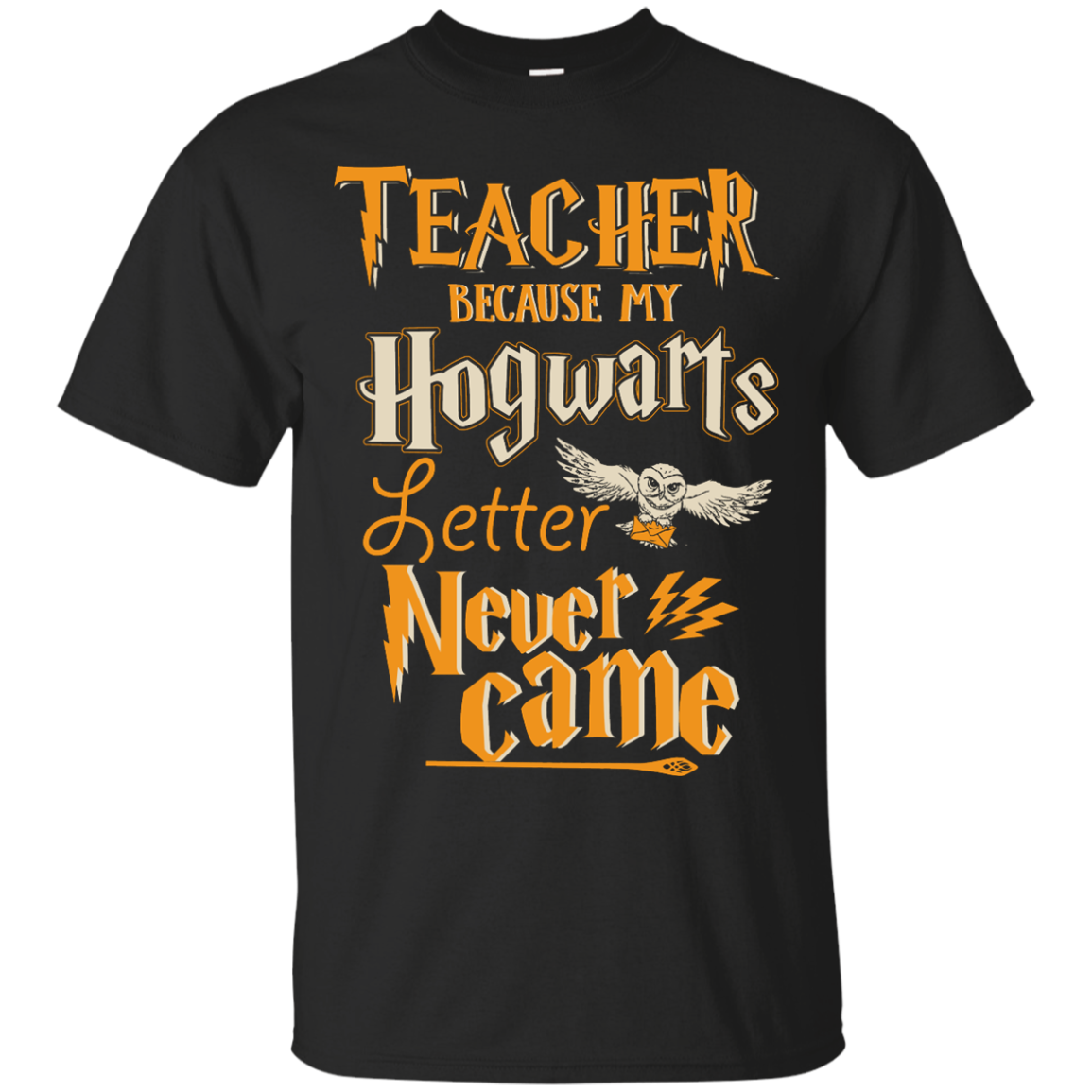 image 585px Teacher because my Hogwarts letter never came t shirts, hoodies