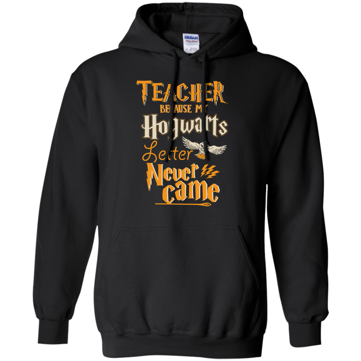 image 589px Teacher because my Hogwarts letter never came t shirts, hoodies