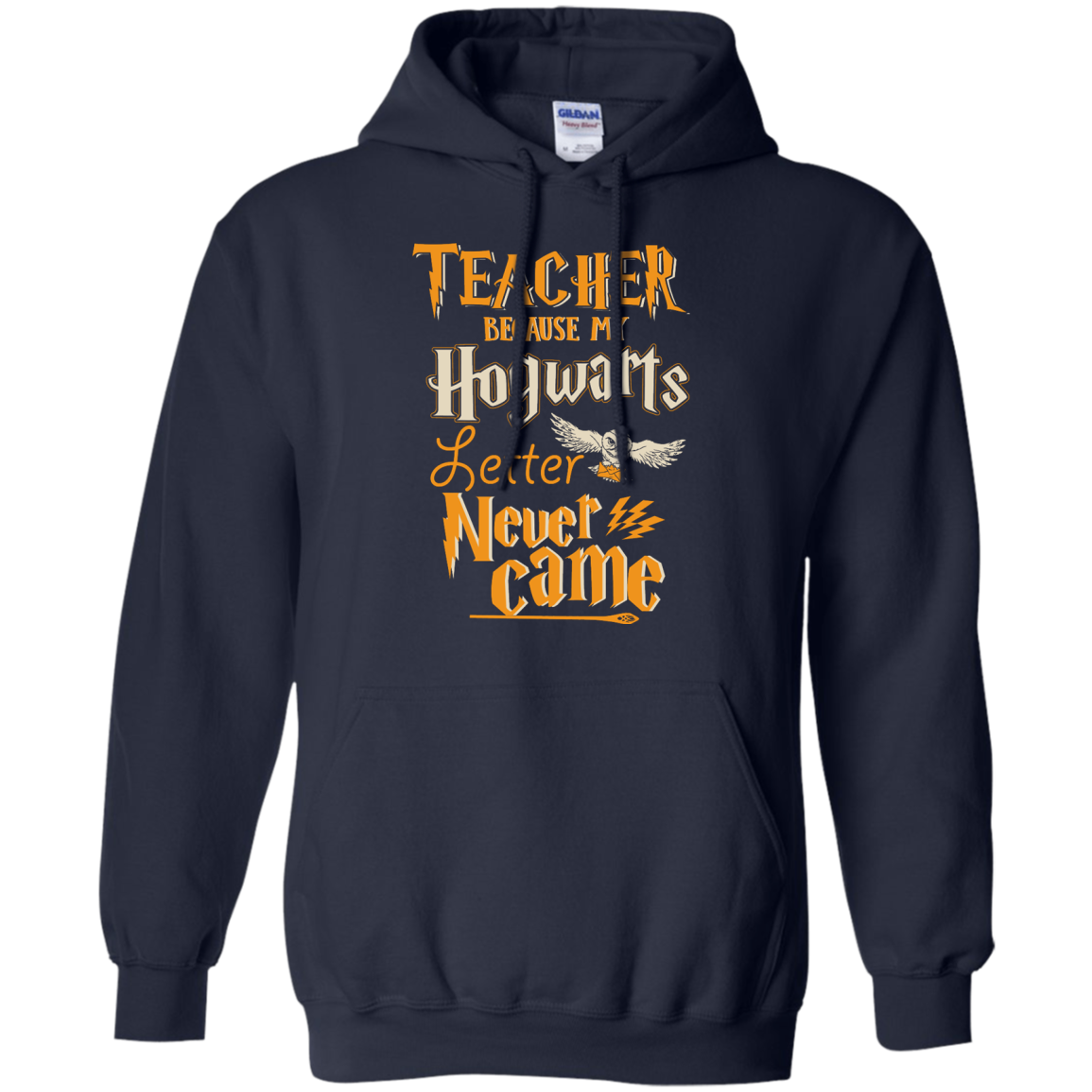 image 590px Teacher because my Hogwarts letter never came t shirts, hoodies