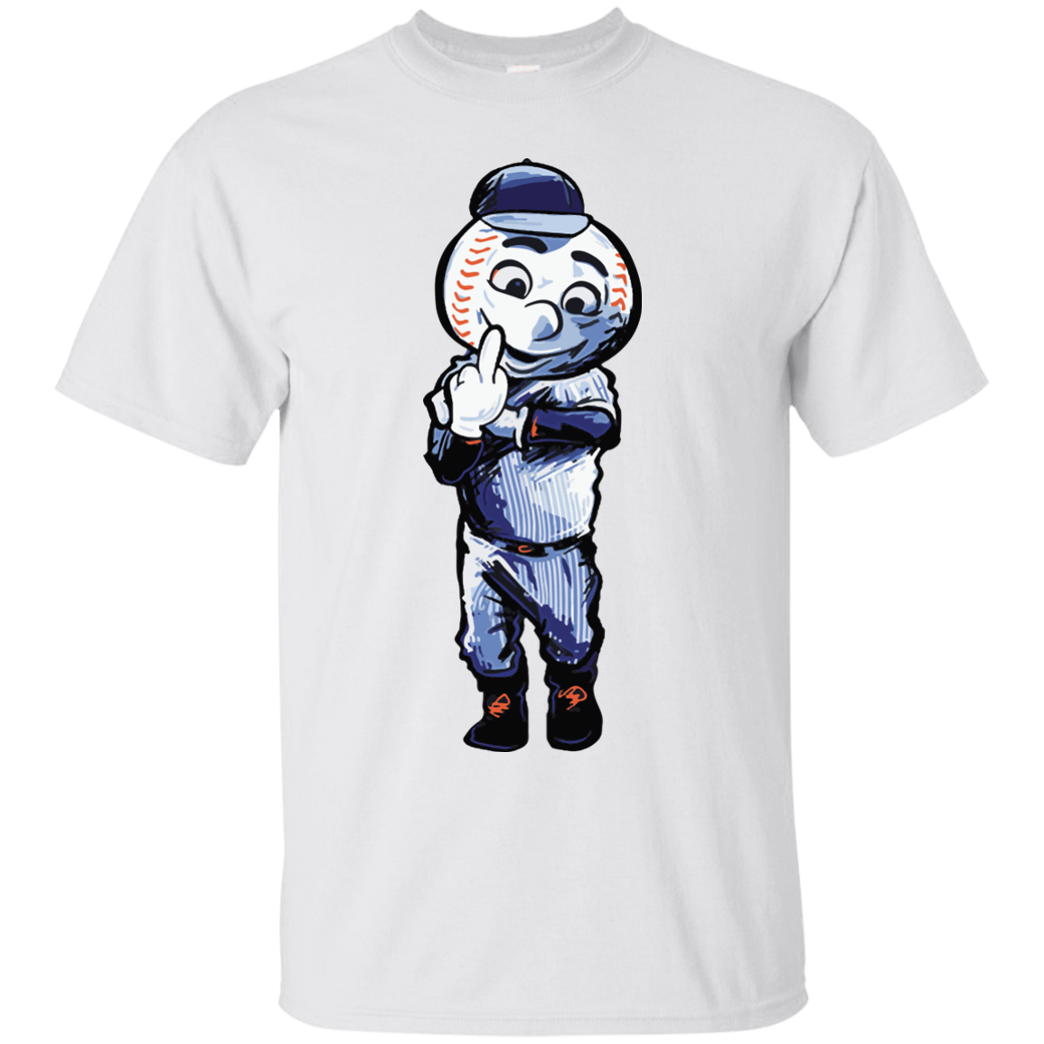 image 692px Mr. Met Middle Finger T Shirts, Hoodies