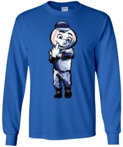 image 695 247x296px Mr. Met Middle Finger T Shirts, Hoodies