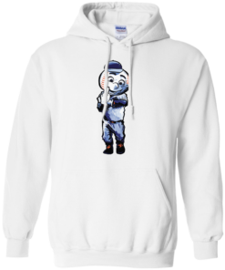 image 696 247x296px Mr. Met Middle Finger T Shirts, Hoodies