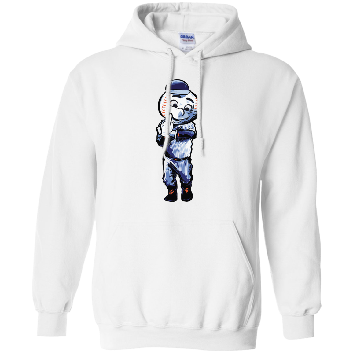 image 696px Mr. Met Middle Finger T Shirts, Hoodies