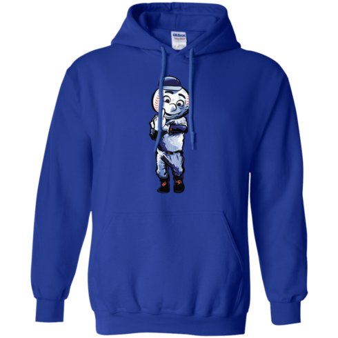 image 697 490x490px Mr. Met Middle Finger T Shirts, Hoodies