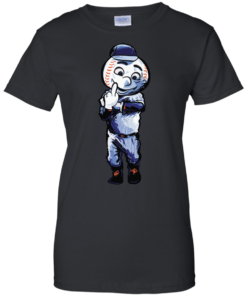 image 698 247x296px Mr. Met Middle Finger T Shirts, Hoodies